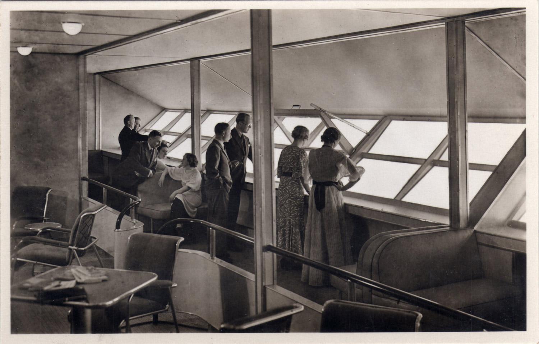 LZ 129 Hindenburg interior Nationaal Archief, No restrictions, via Wikimedia Commons
