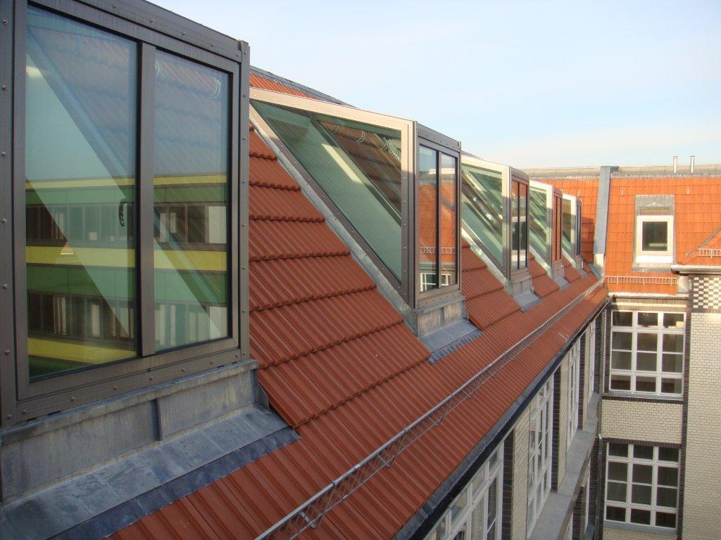 Flat Roif Painted Brick Exteriors