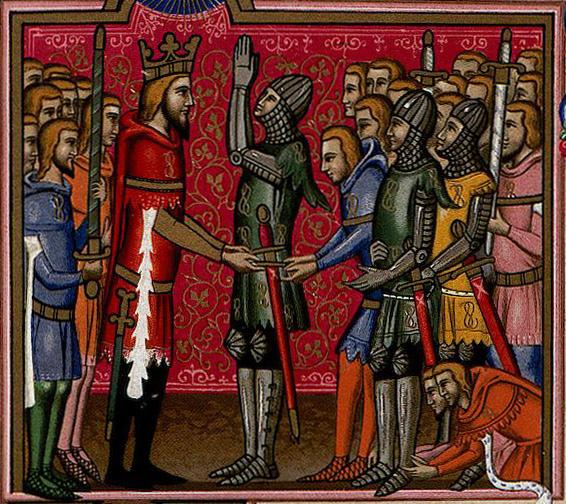 Luis I de Nápoles - Orden del Santa Espíritu