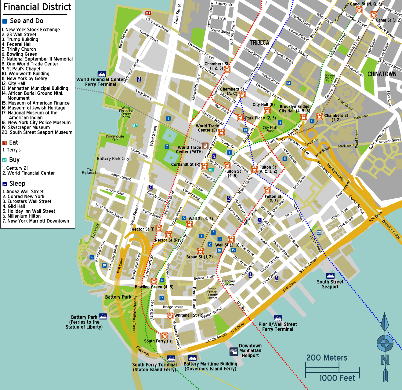 Comprehensive image with regard to printable map of lower manhattan streets