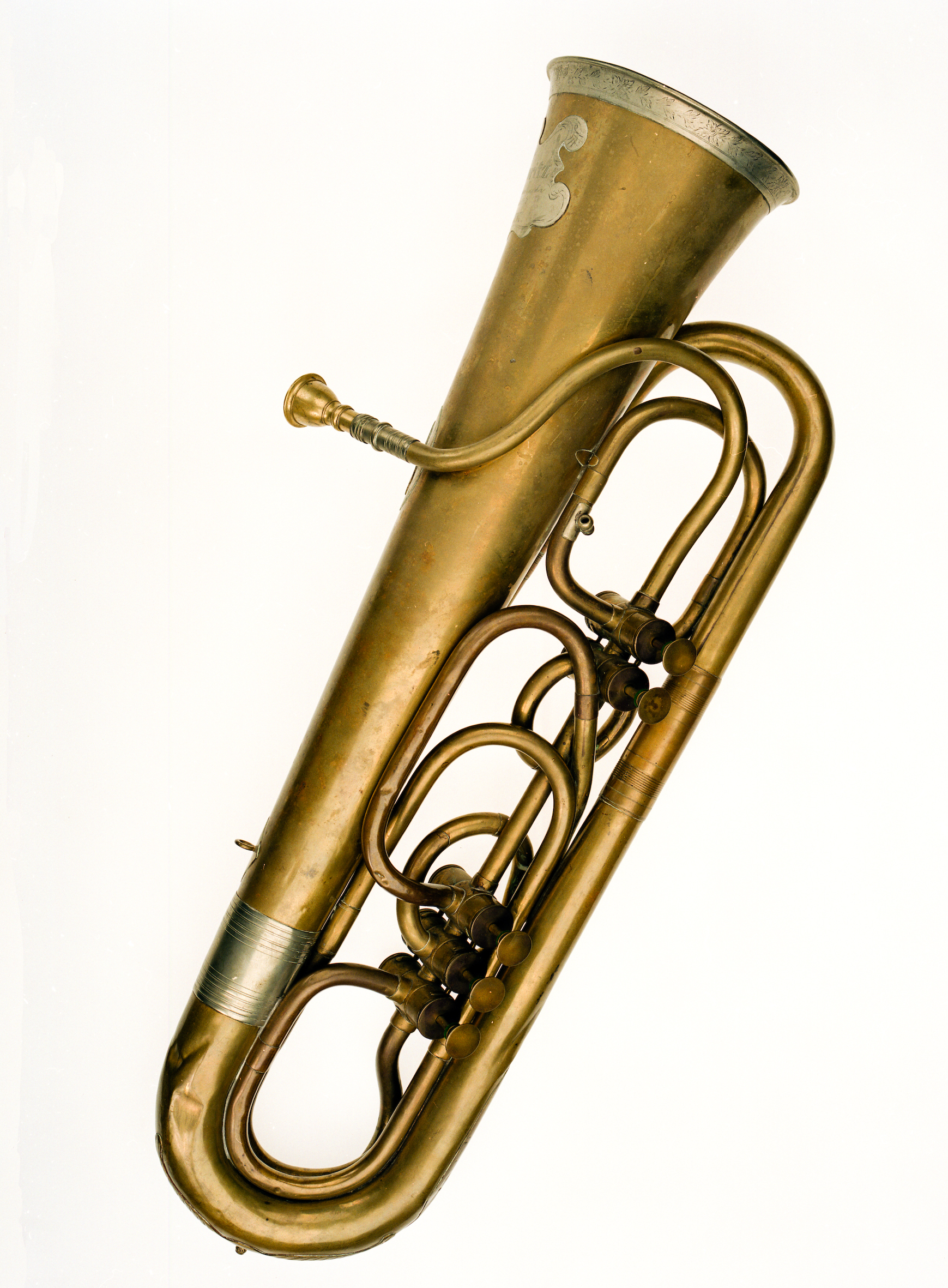 c99e9ca31d Tuba by Wieprecht   Moritz as described in Prussian patent No.19.