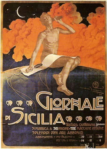 Manifesto Giornale di Sicilia