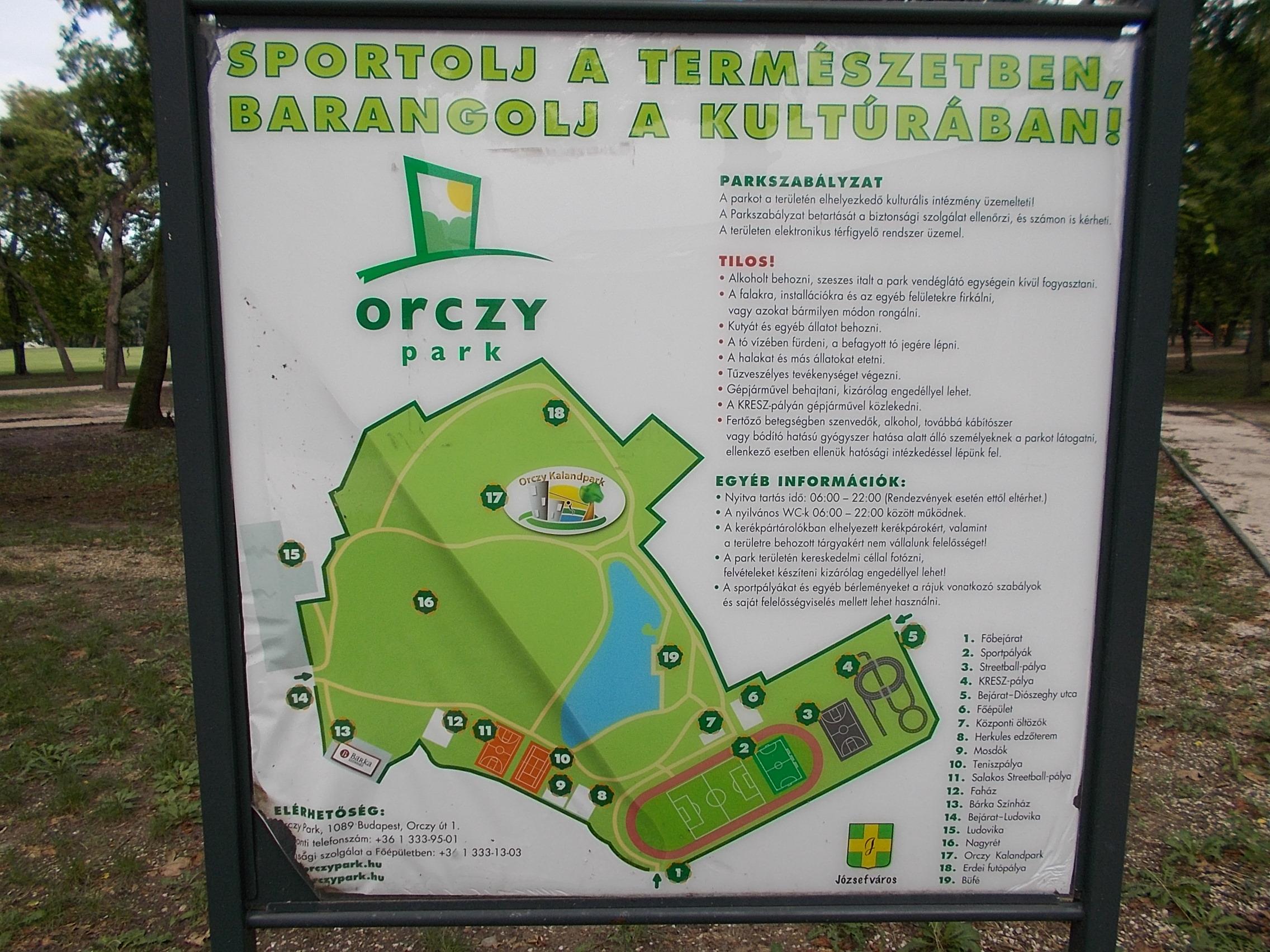 File Map Orczy Garden Budapest District Viii Jpg Wikimedia
