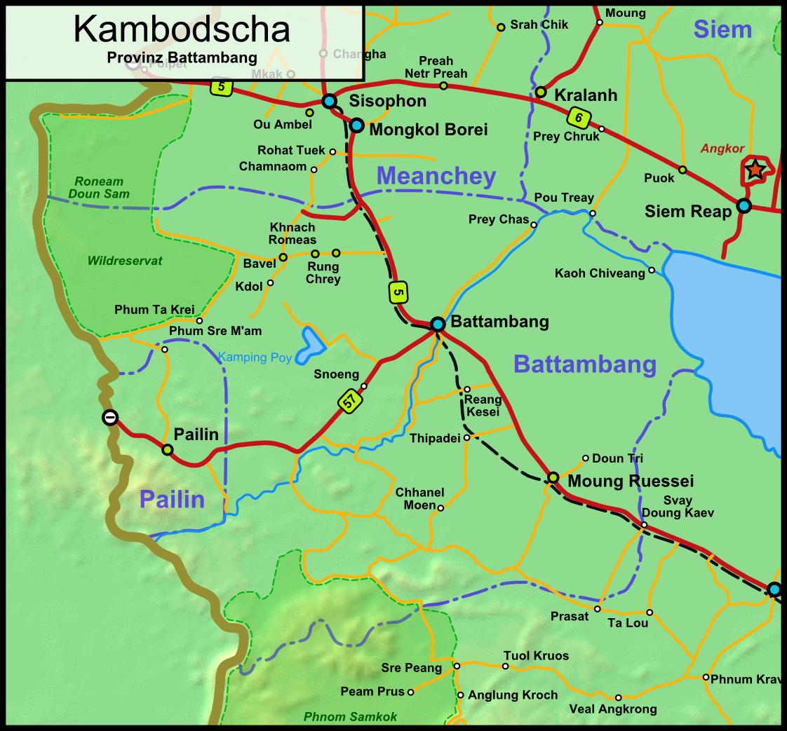 Tour In Battambang Cambodia
