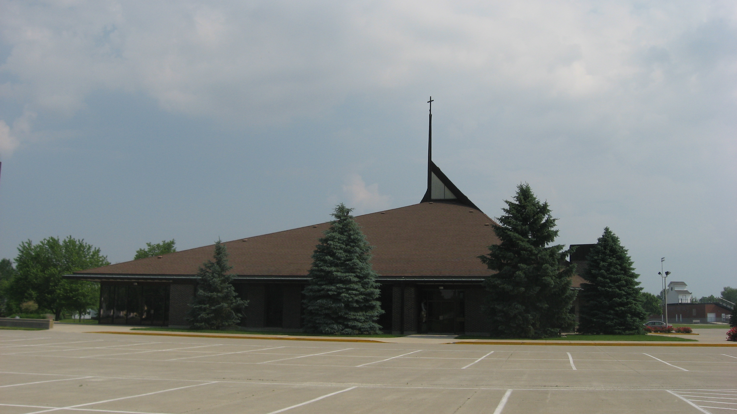 Ohio mercer county fort recovery - File Mary Help Of Christians Church In Fort Recovery Jpg
