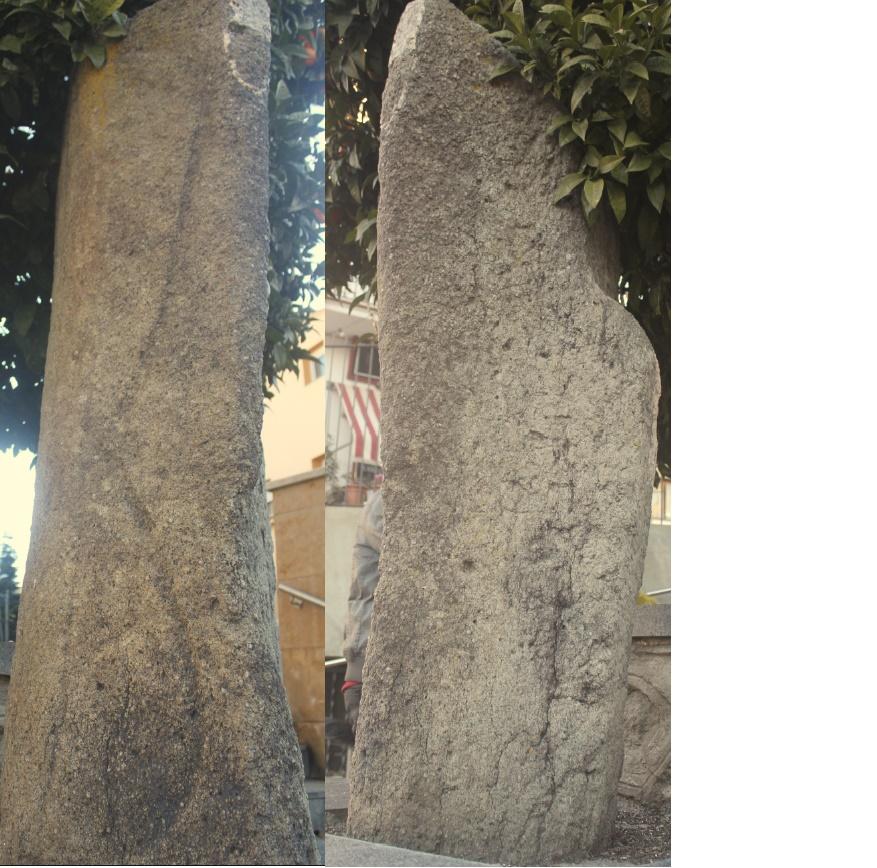Menhir de Castellruf - Wikipedia, la enciclopedia libre