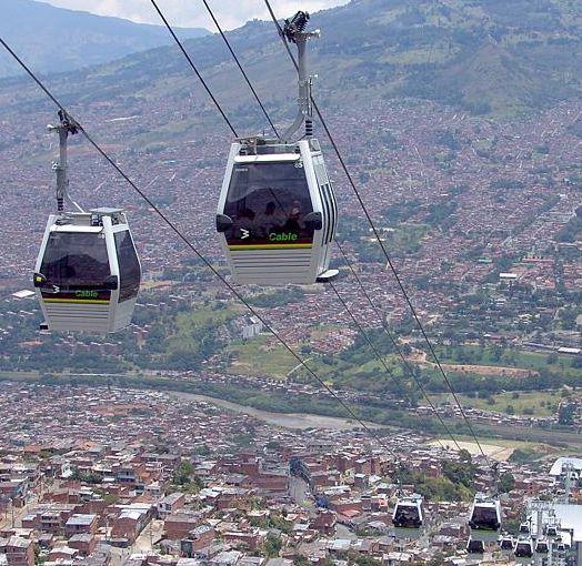 Medellin cable car, medellin metrocar, cable car medellin