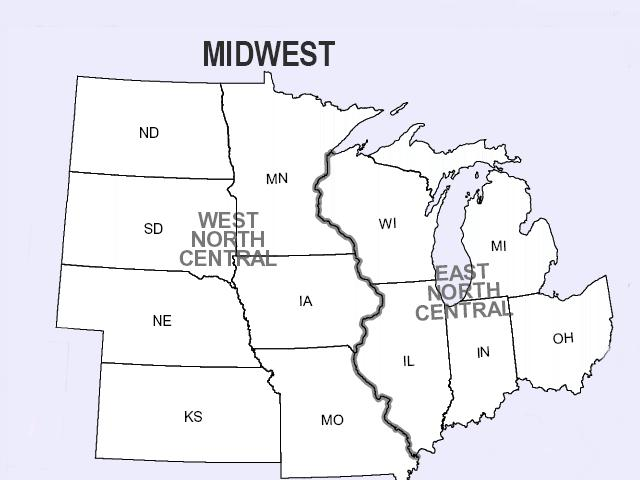 maps : printable state of ohio map printable midwest states