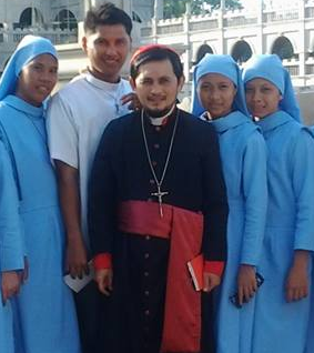 Allan Amoguis Filipino-Italian Orthodox bishop