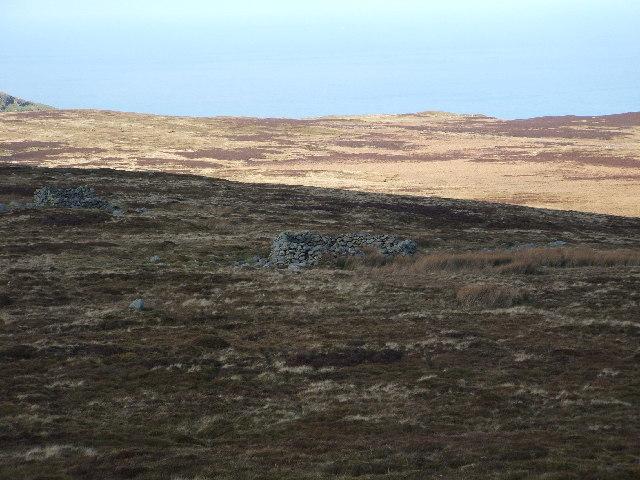 Moorland below Tal Y Fan - geograph.org.uk - 8199