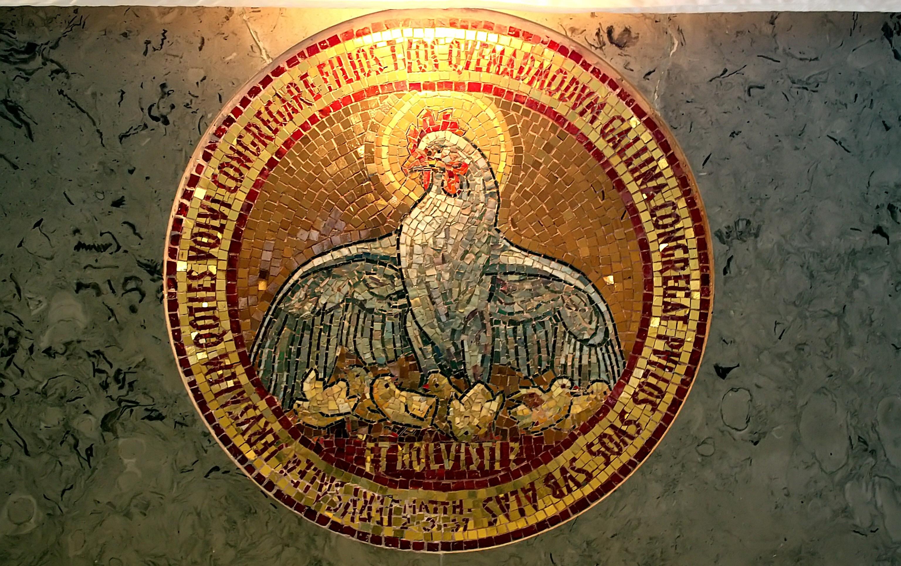 Mosaic Art at Dominus Flevit