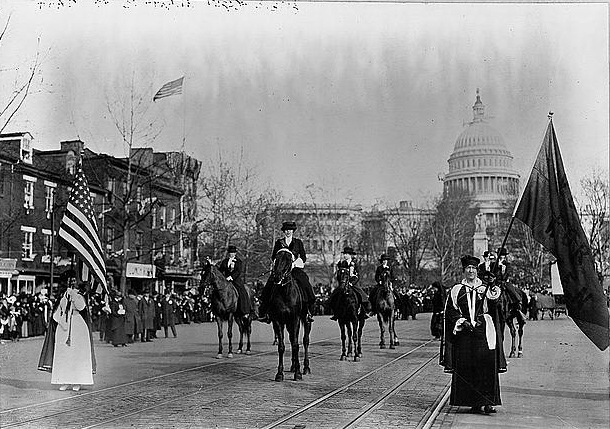 National American Women Suffrage Association, WashingtonDC, March 1913