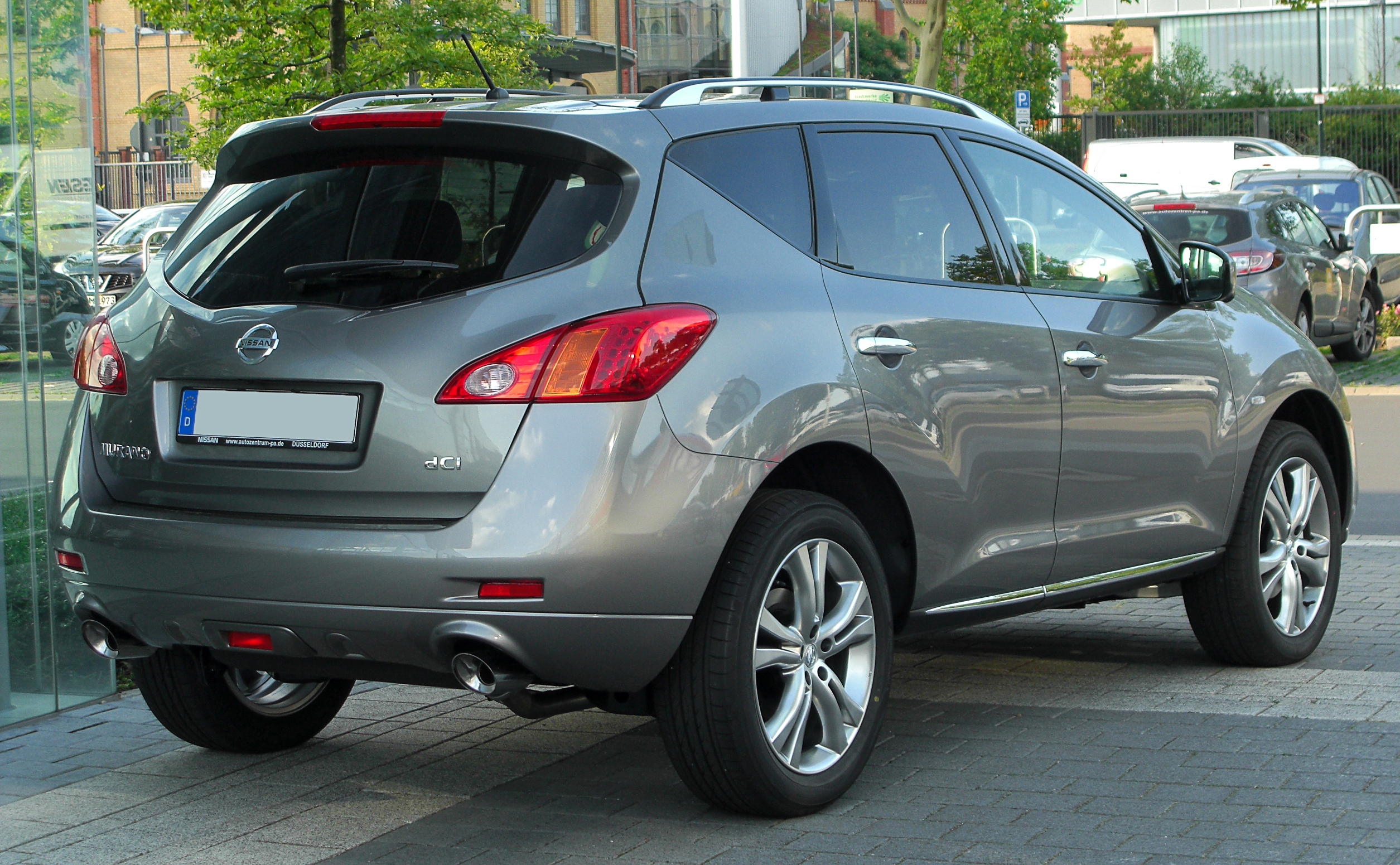 datei nissan murano 2 5 dci z51 facelift rear wikipedia. Black Bedroom Furniture Sets. Home Design Ideas