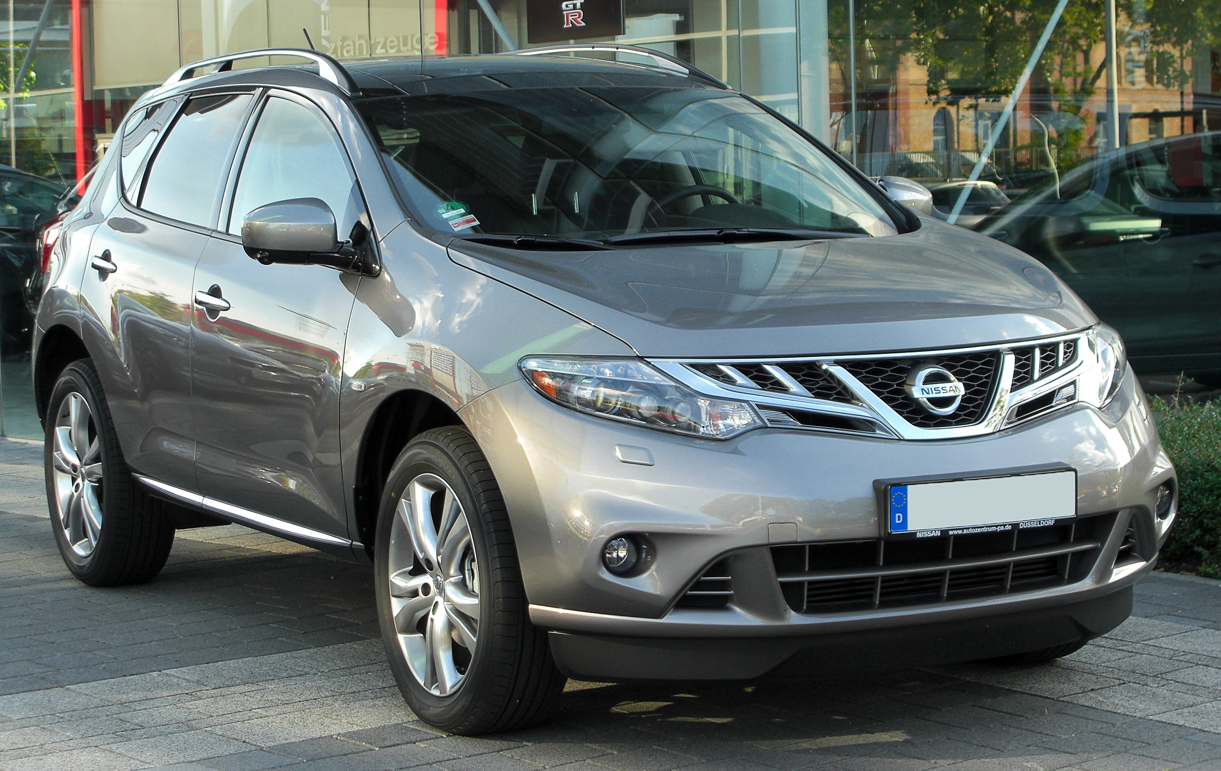 file nissan murano 2 5 dci z51 facelift front. Black Bedroom Furniture Sets. Home Design Ideas