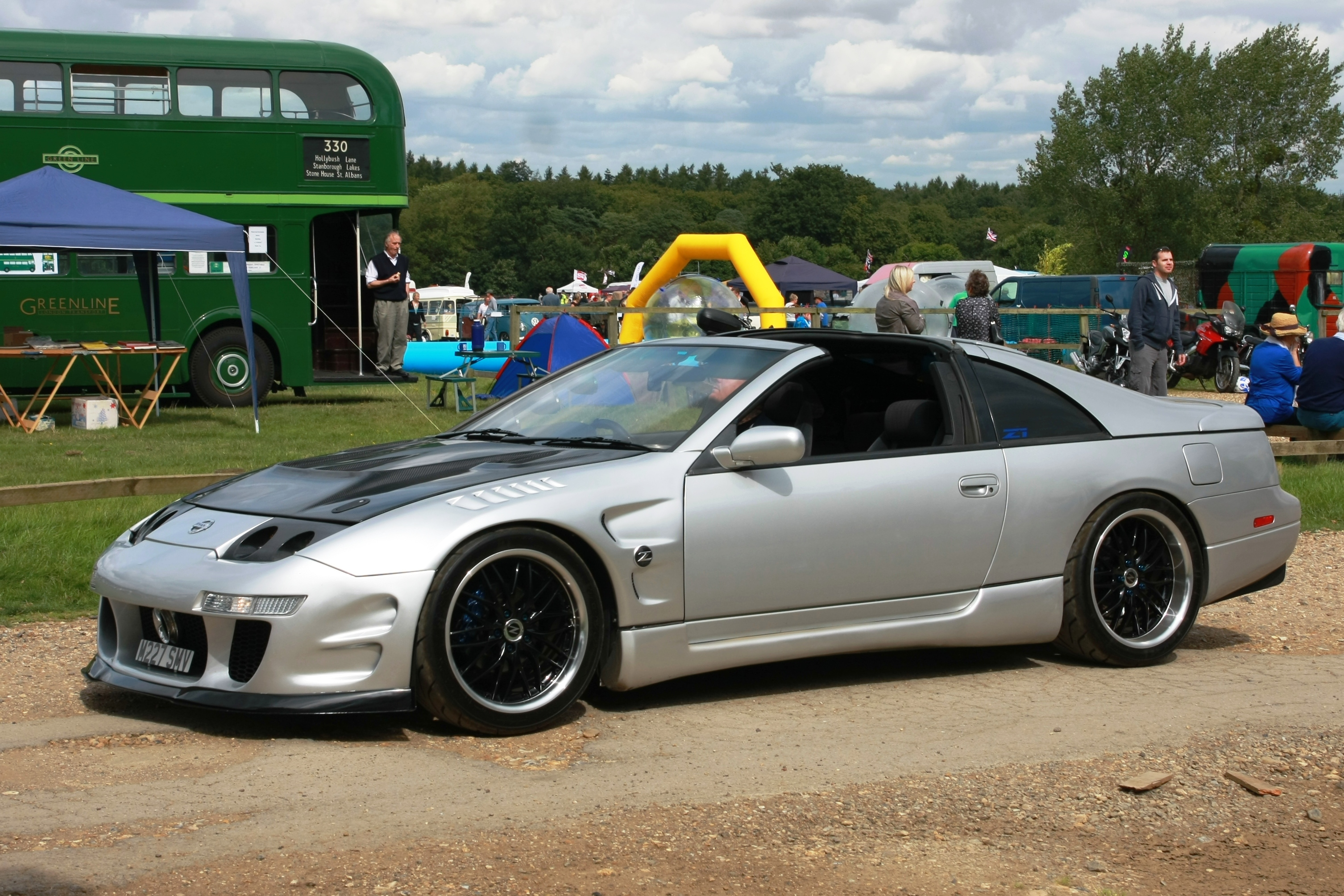 File Nissan Sports Car Manufactured 1994 Imported To Britain 2007 Jpg