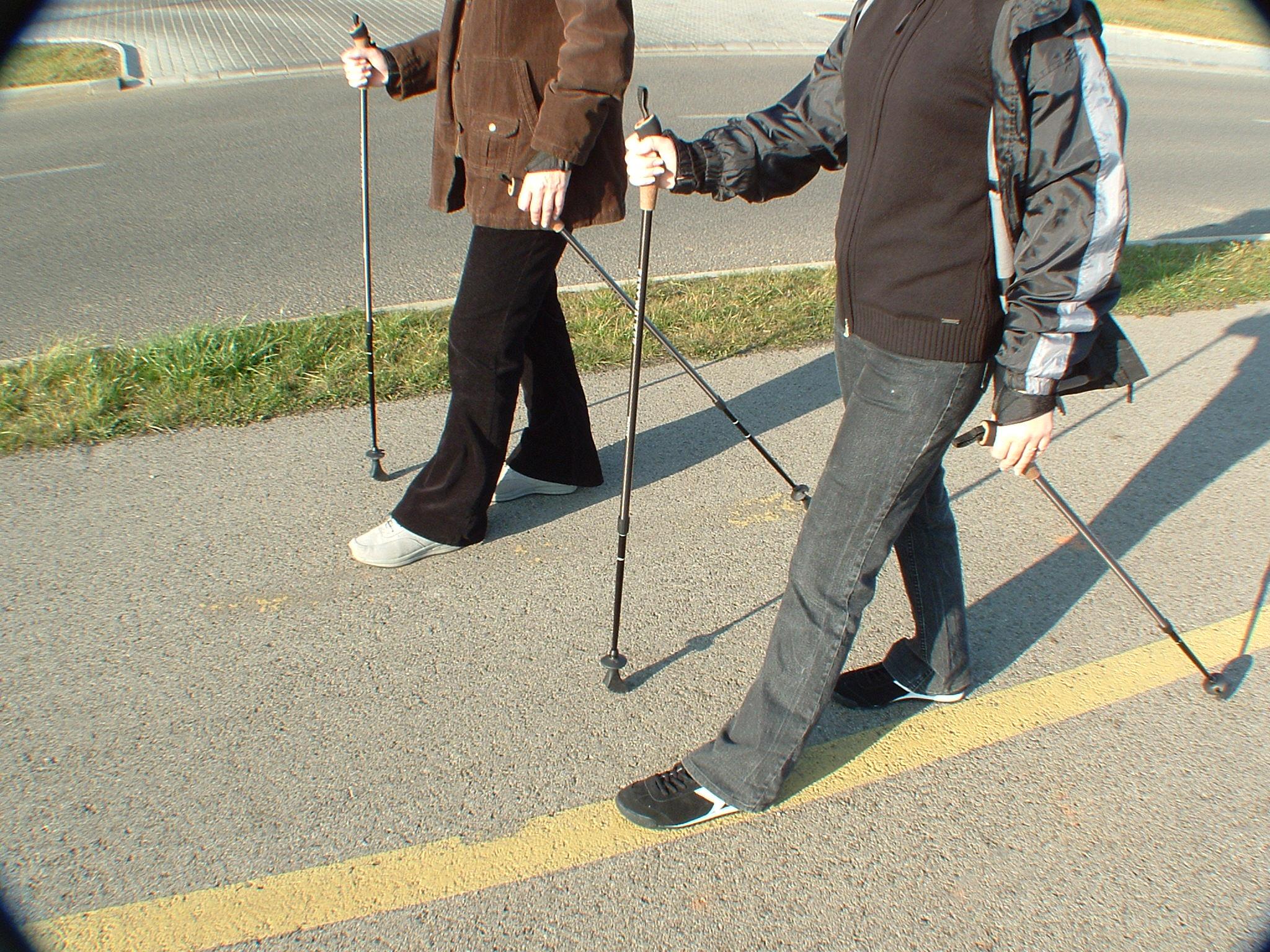 Hodanje sa štapovima - Nordijsko hodanje Nordic_walking_in_Hungary