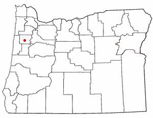 Loko di Falls City, Oregon