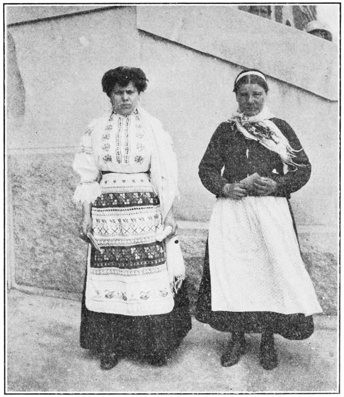 Russian Women at Ellis Island, 1913
