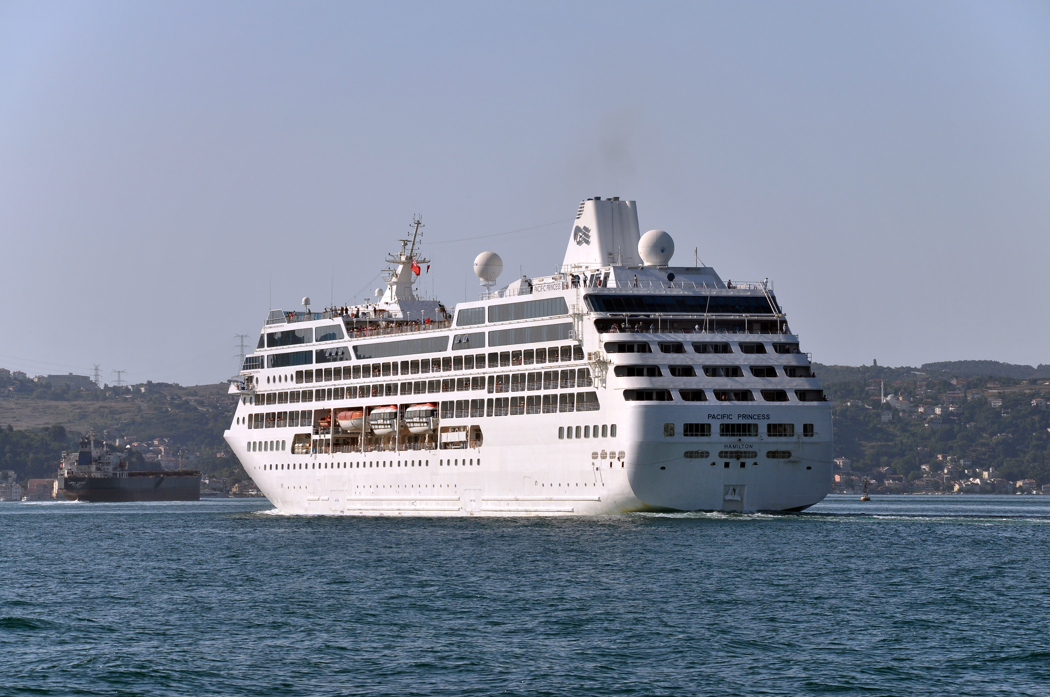 C A Turkey Istanbul File:Pacific Princess ...