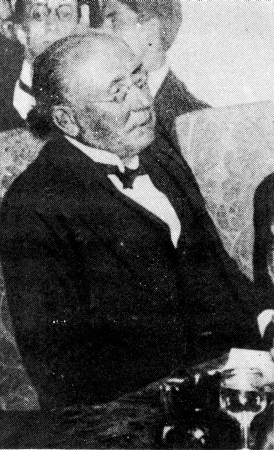 Pedro B. Palacios en 1913.