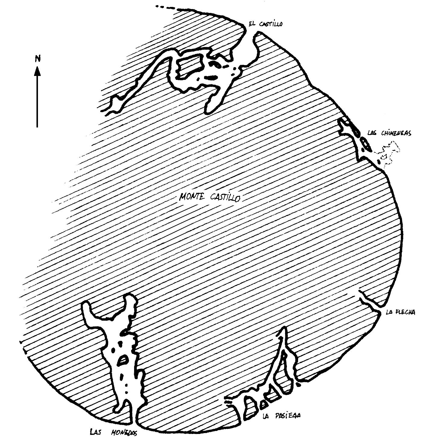 File:Plano del Monte Castillo (cuevas).png - Wikimedia Commons