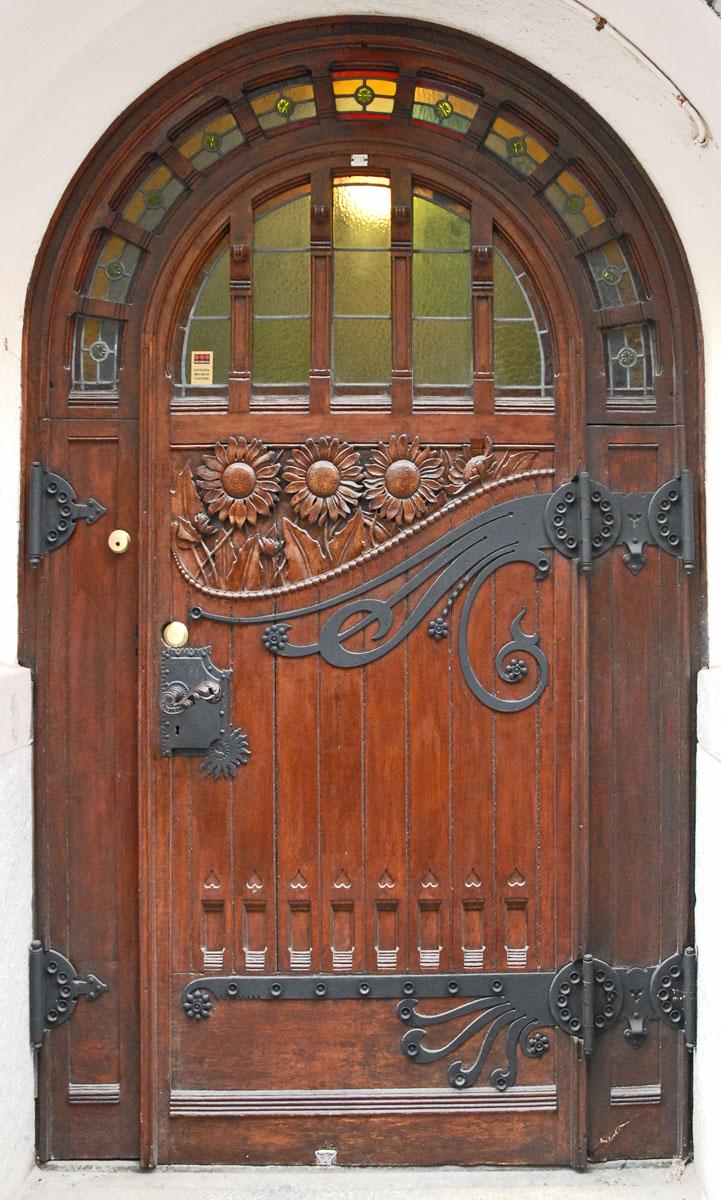 Pooja Room Double Door Designs