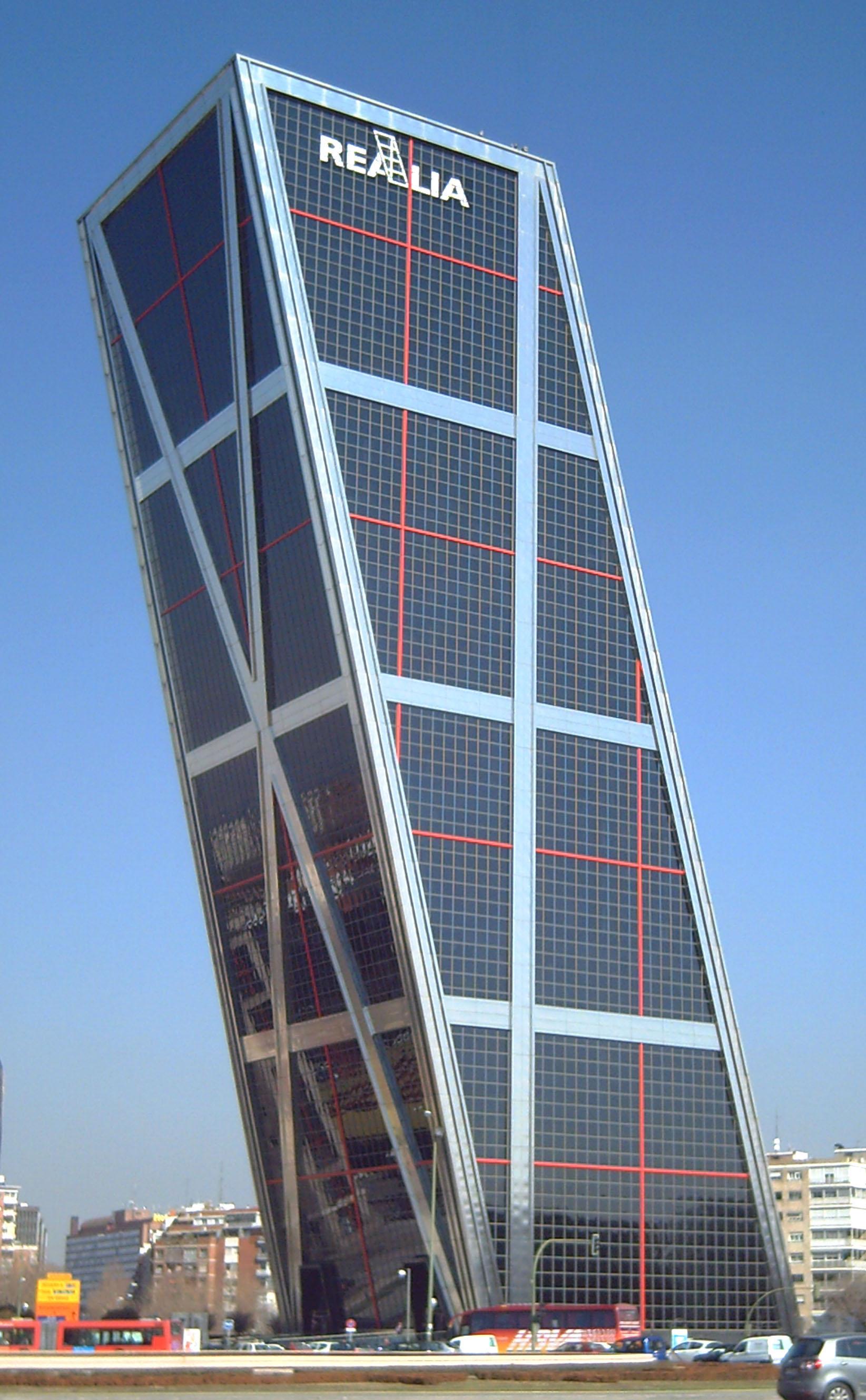 File puerta de europa ii madrid wikimedia commons - Puerta europa almeria ...