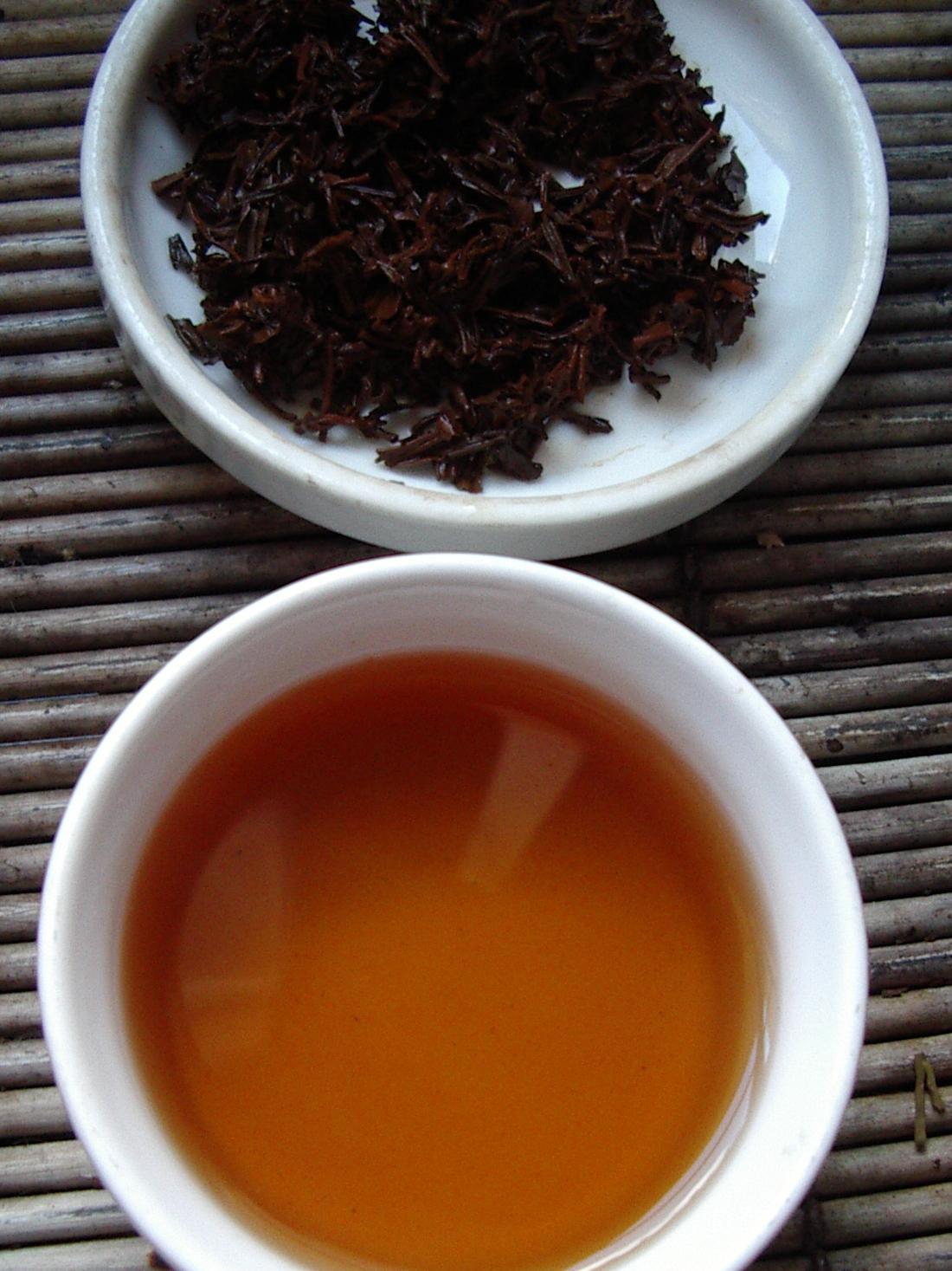 te med mest koffein