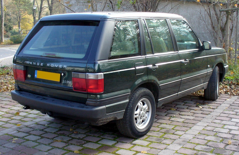 File:Range Rover 2.5 DSE Heck.JPG - Wikimedia Commons