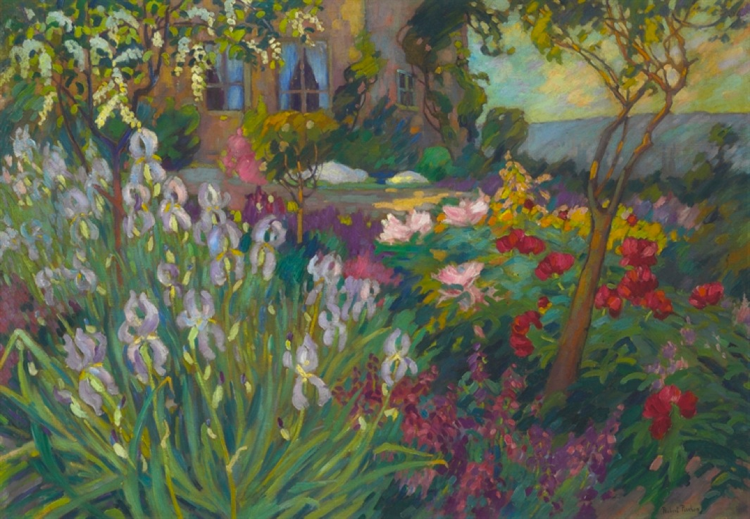 Robert Antoine Pinchon - The Iris Garden
