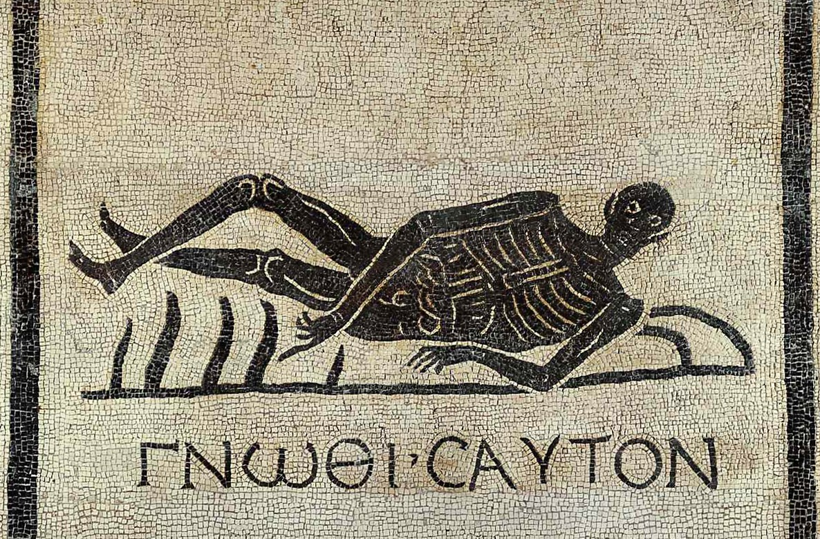 Image result for ancient greek death mosaic