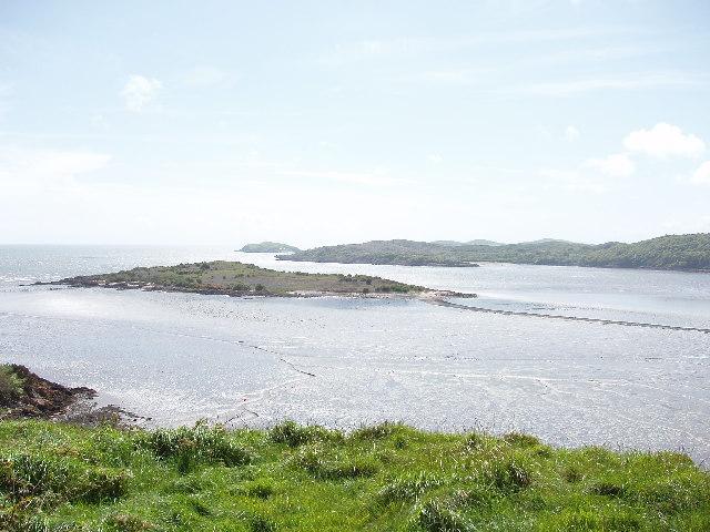 Rough Island from Mote of Mark, near Dalbeattie - geograph.org.uk - 14417