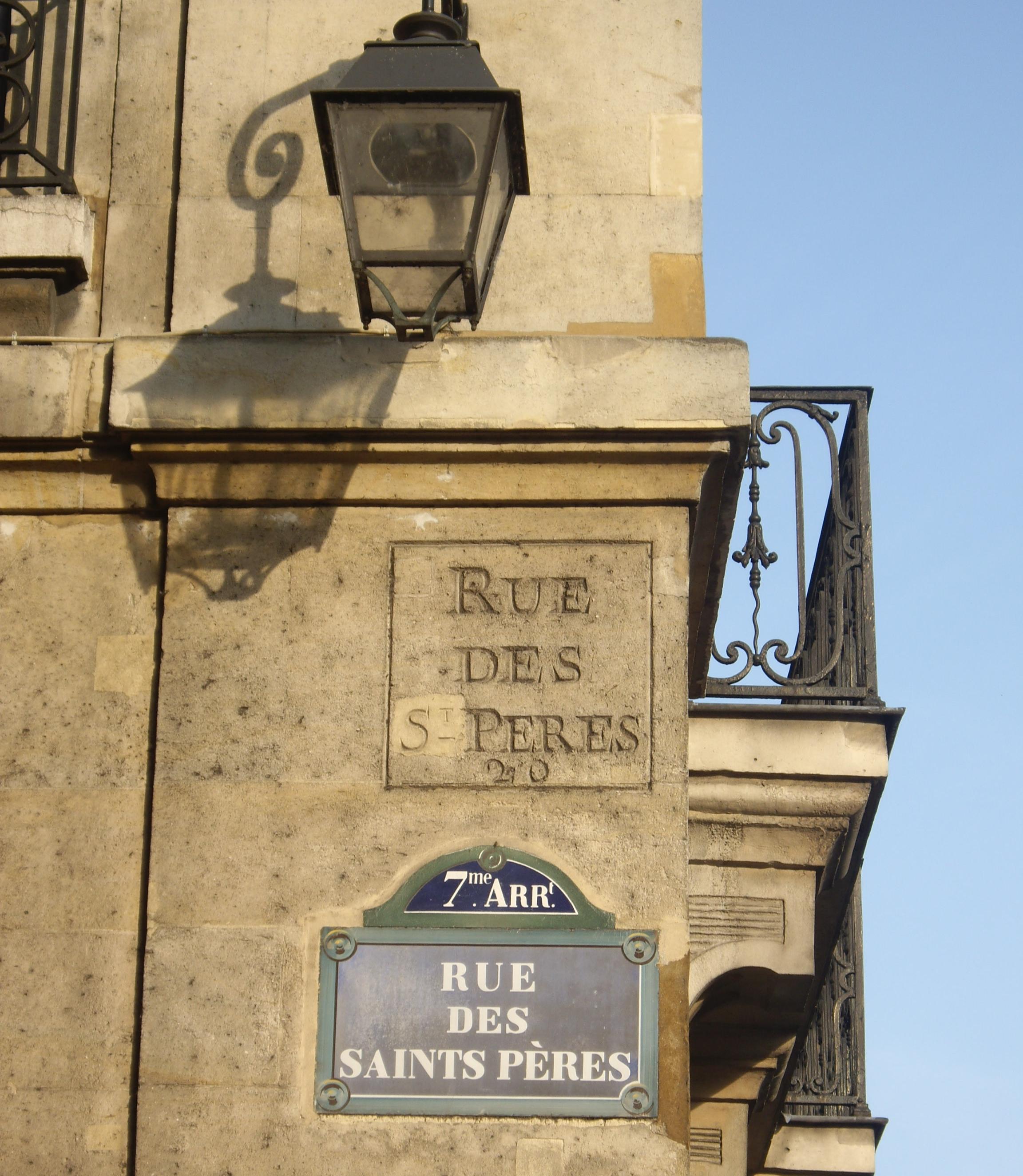 il mistero di rue des saints-pères izner