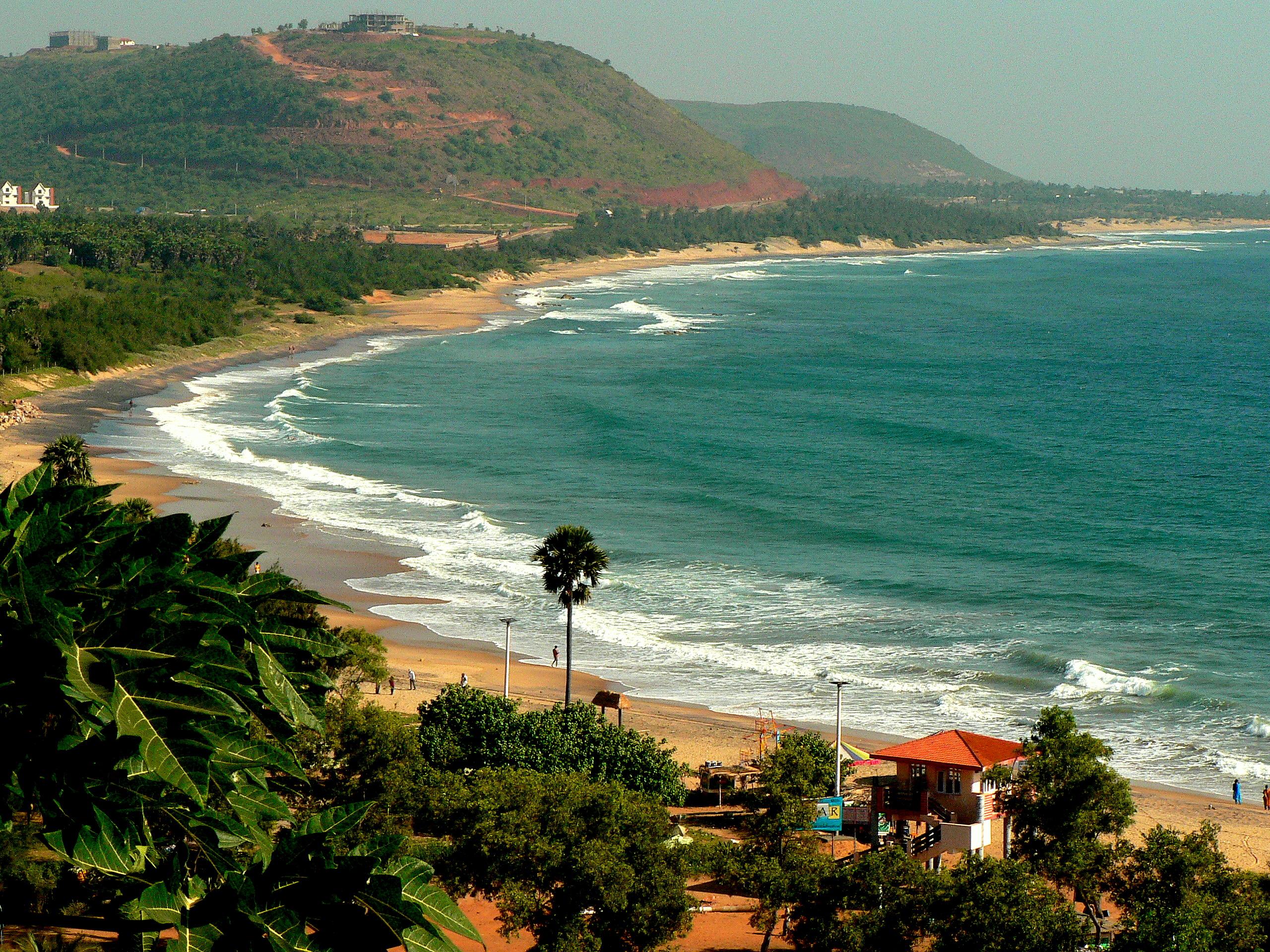 Rushikonda Beach - Wikipedia