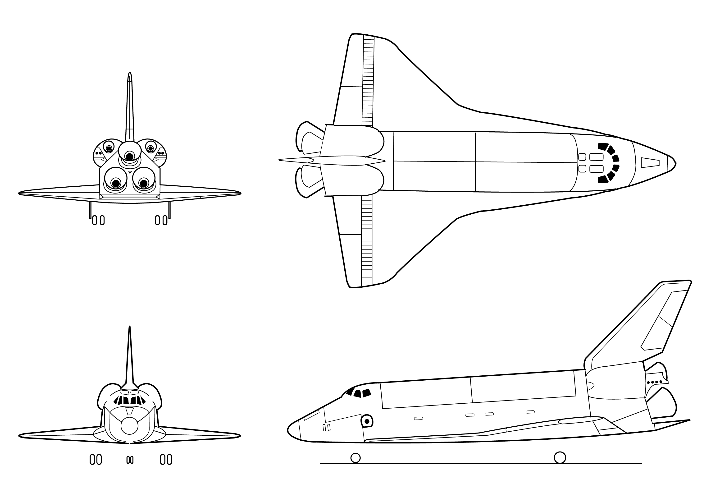 Image Result For Simple Jet Coloring