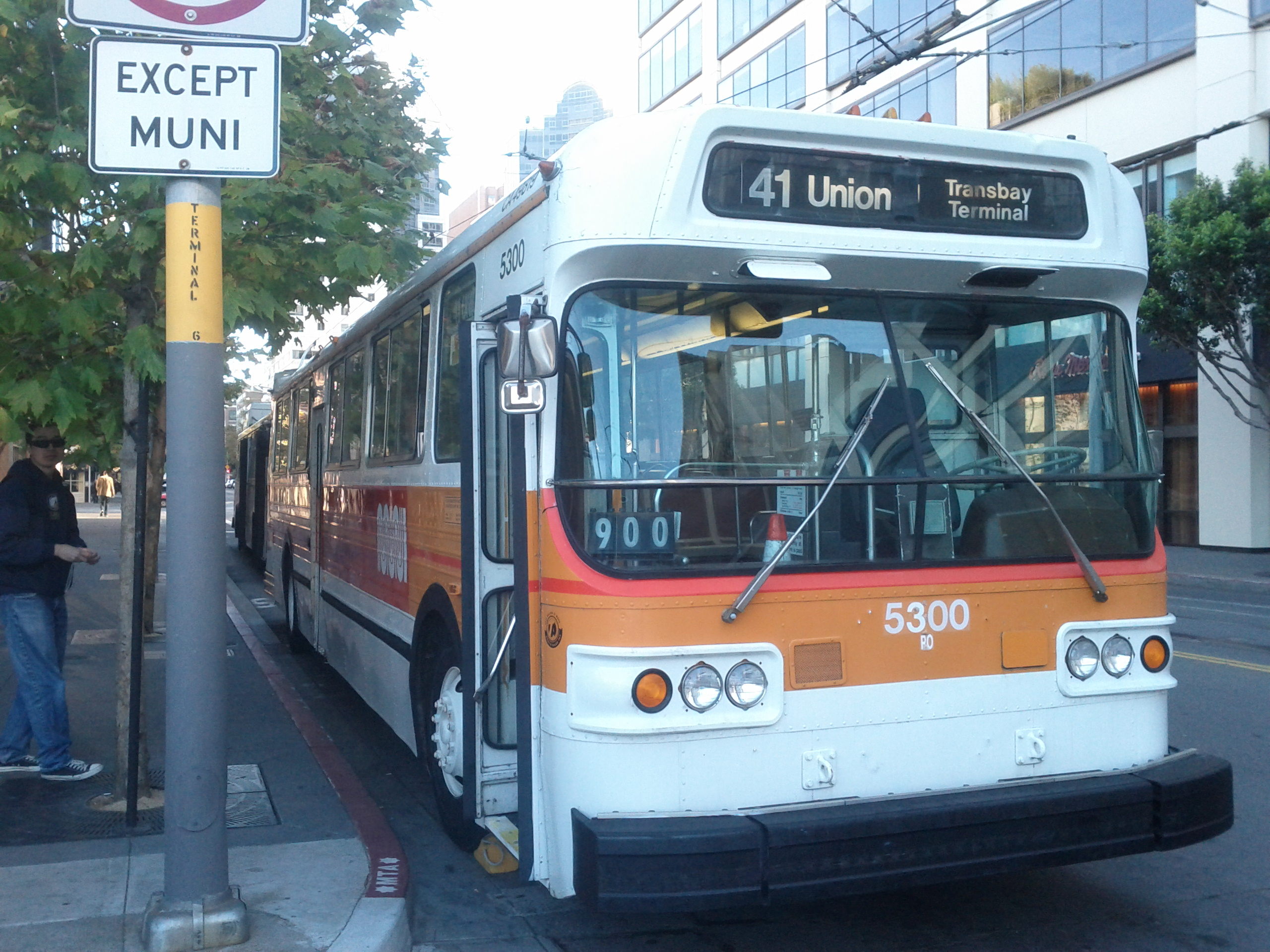Muni Trolleys San Francisco File:san Francisco Muni Flyer