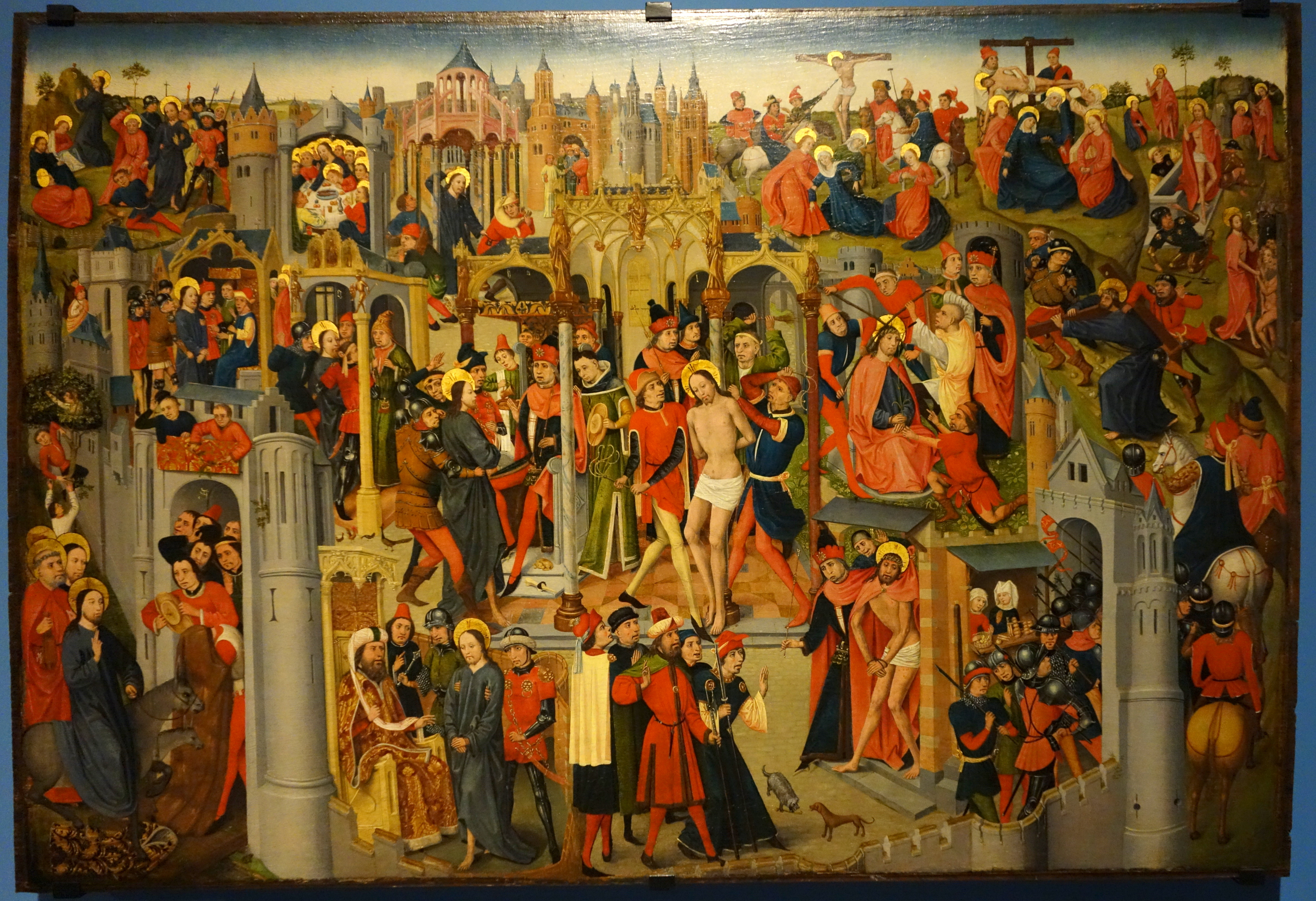 File:Scenes of the Passion of Christ, artist unknown, Brabant, c.