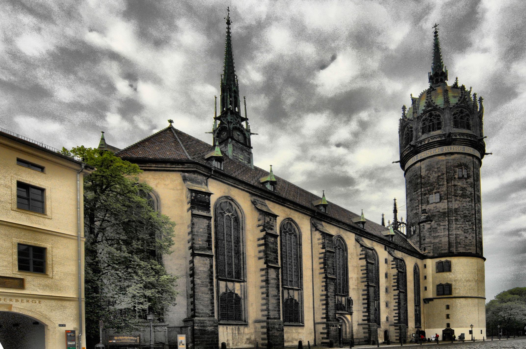 File Schlosskirche Wittenberg Jpg Wikimedia Commons