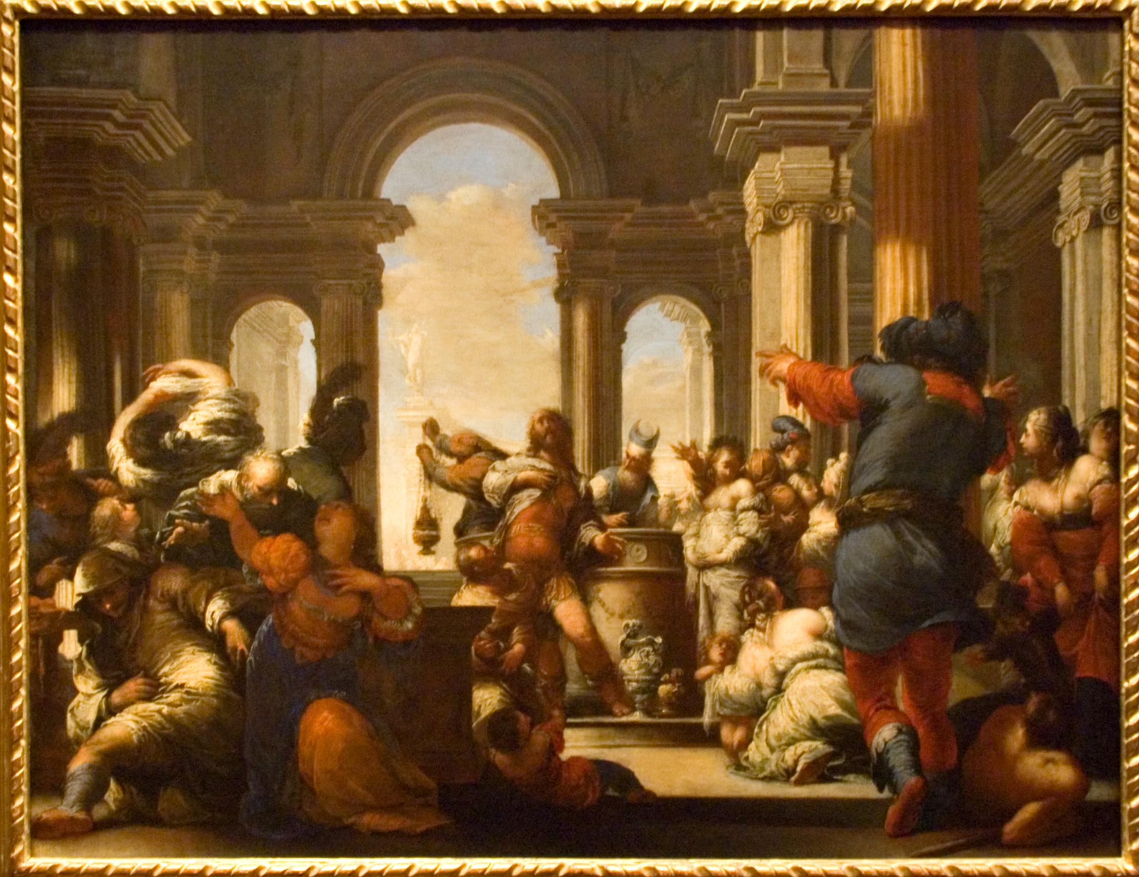 Italian Baroque Painter Caravaggio Used A Technique Called Tenebrism