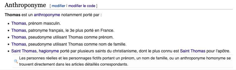 Discussion Wikipedia Sondage Place Des Homonymes De Prenoms