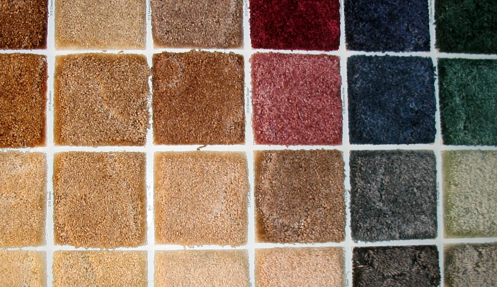 File swatches of carpet wikimedia commons for Types of carpets for home