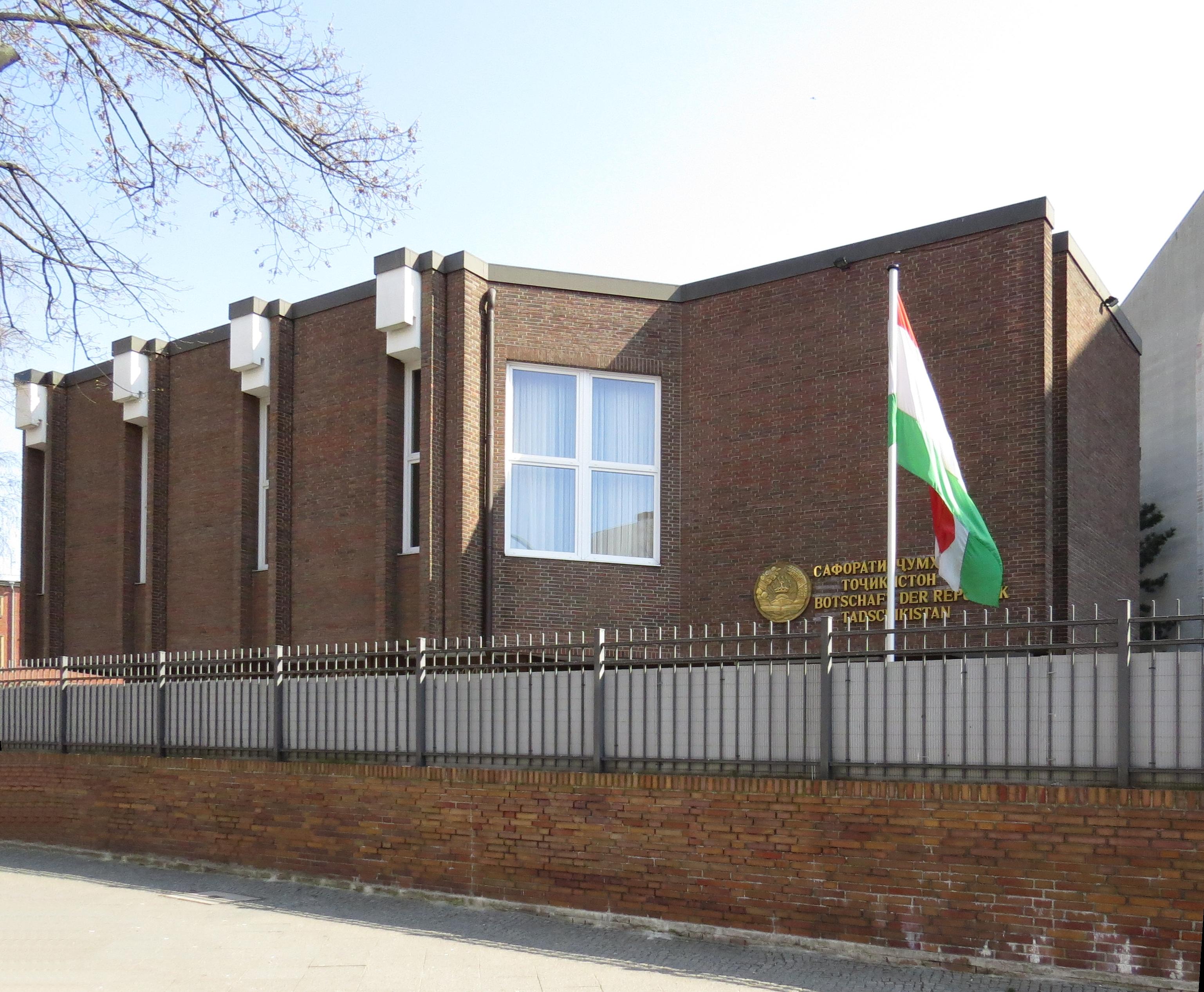 botschaft tadschikistan berlin