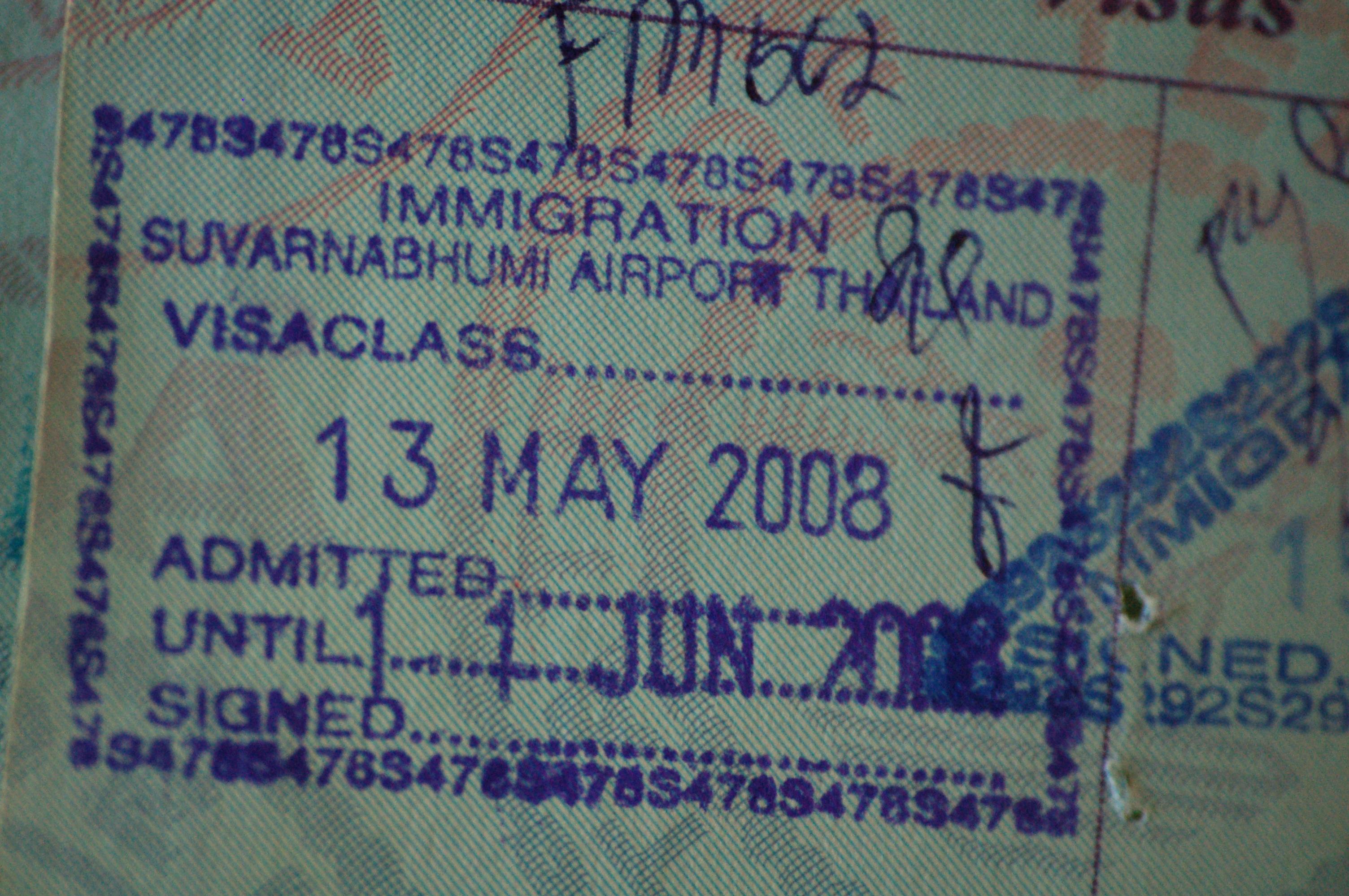 Thaimaan Viisumi Muutokset