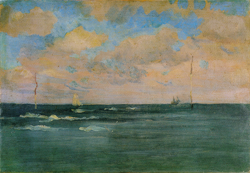 File:The Bathing Posts, Brittany by James McNeill Whistler, 1893.jpg