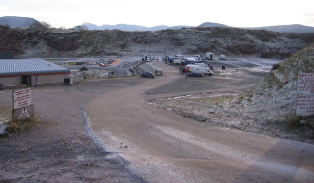 File:The Karting pits area Rowrah. - geograph.org.uk - 97267.jpg