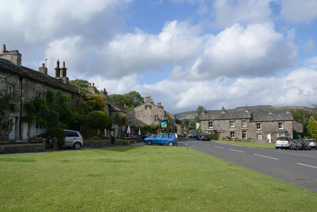 The village green at Austwick - geograph.org.uk - 1650285