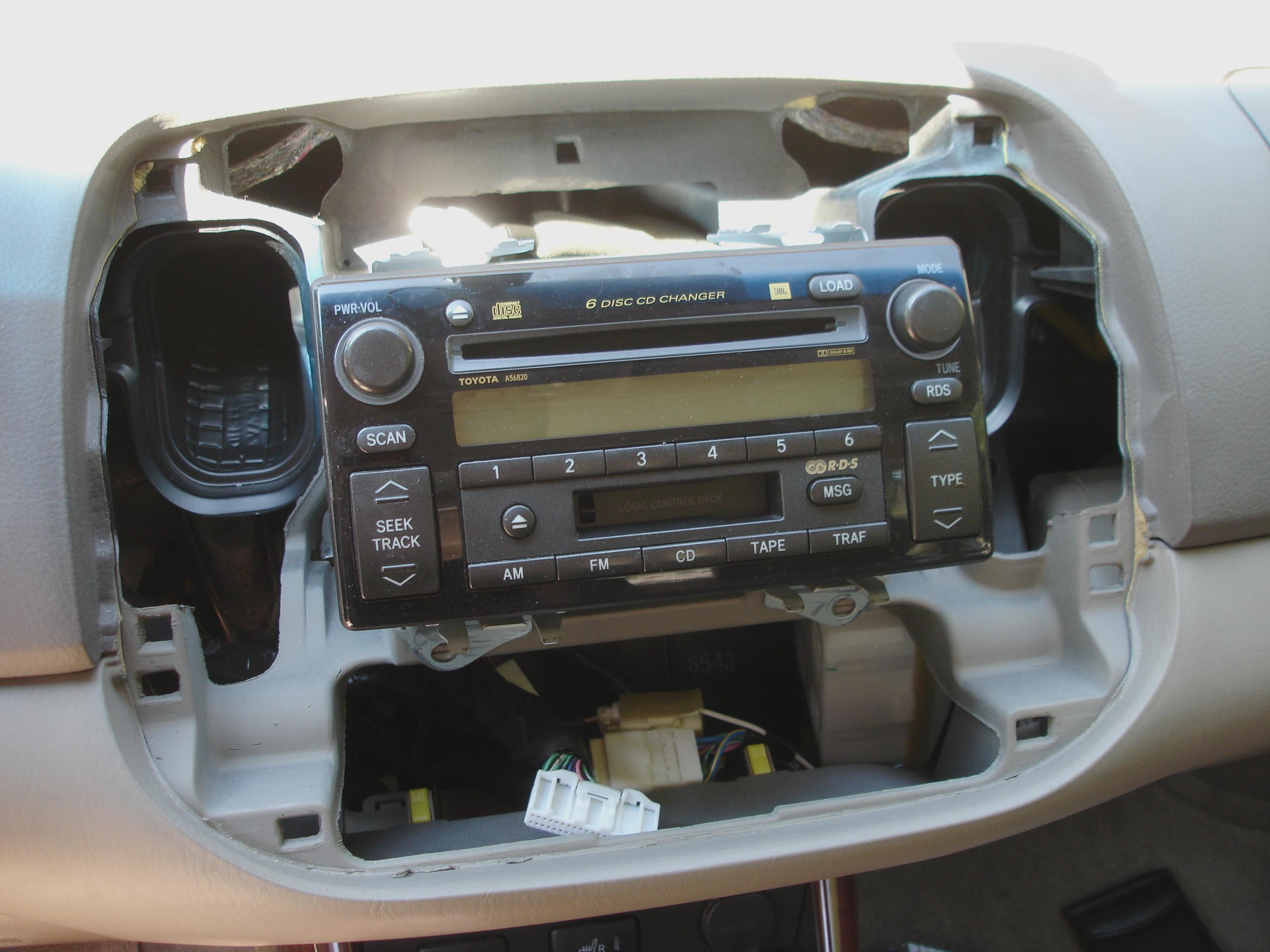 Filetoyota Camry Gen6 Trimpanels Removed Stock Head Unitjpeg Toyota Radio Wiring Harness On Jbl Get