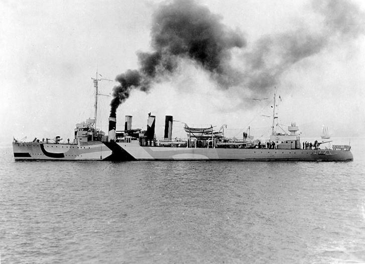 USS Ward APD-16 ex DD-139