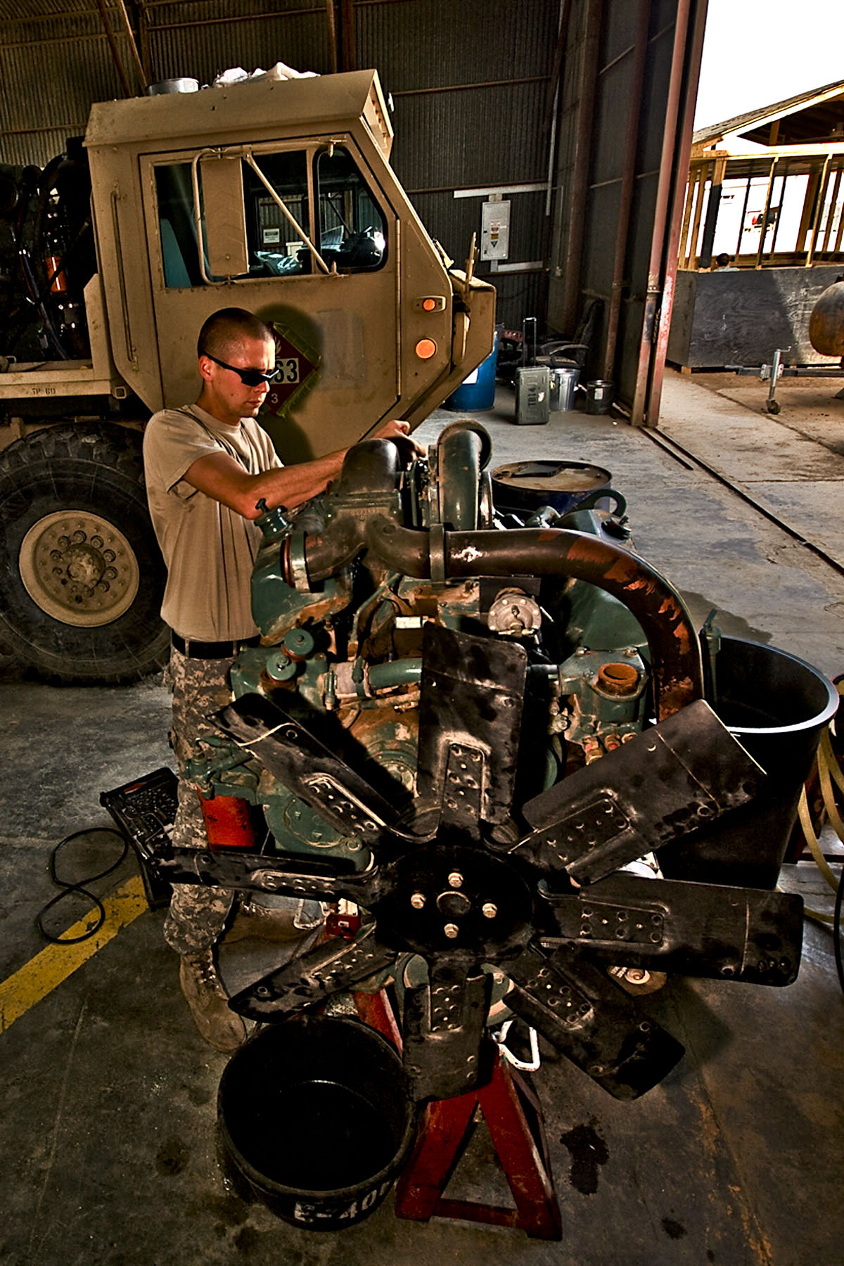 File:US Army 51932 CAMP TAJI, Iraq-To ensure the injectors are ...