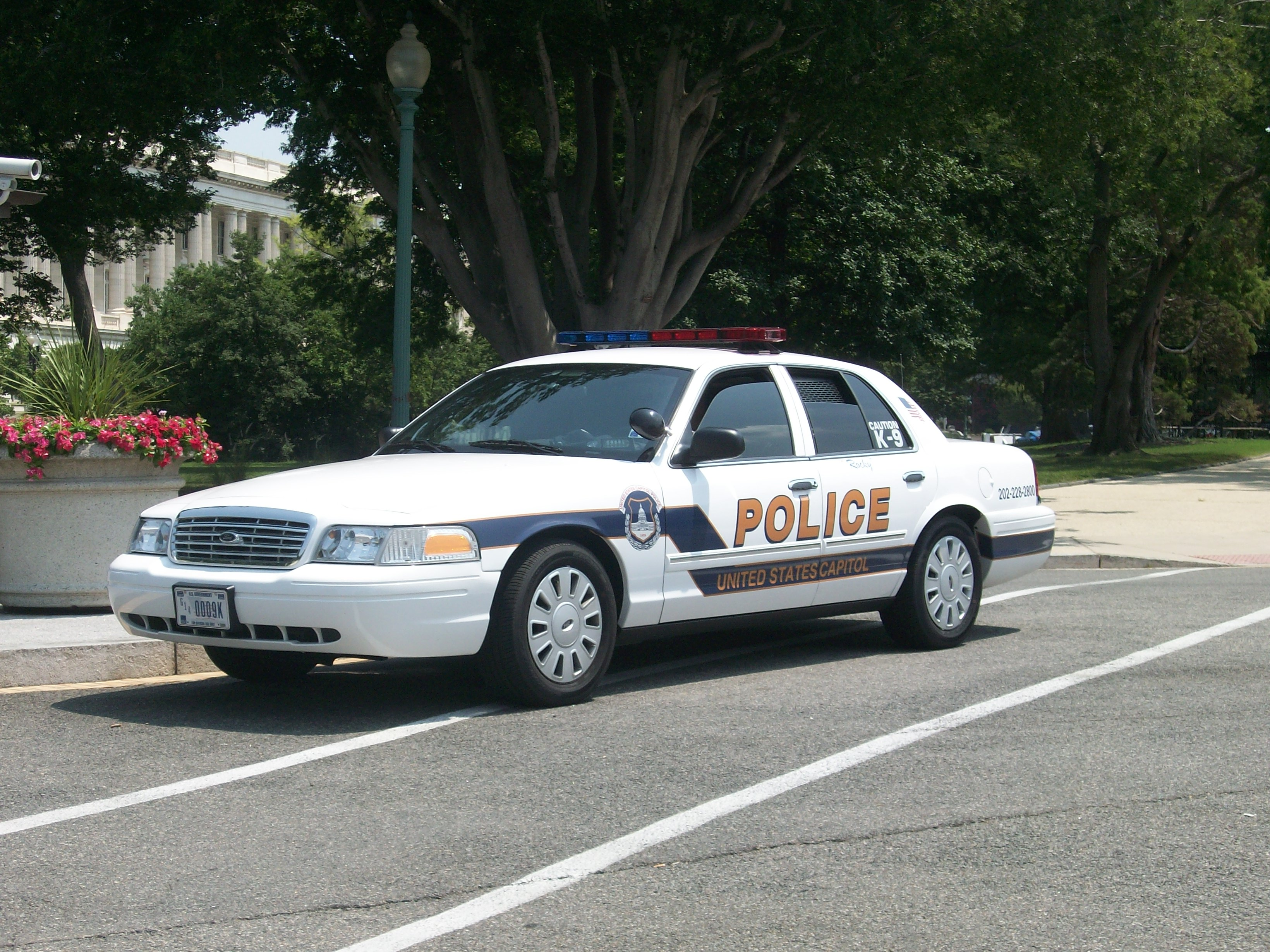 Description United States Capitol Police Washington D.C. 2011 2